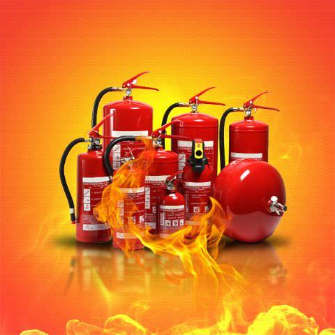 Yangın Söndürücü Tüpler