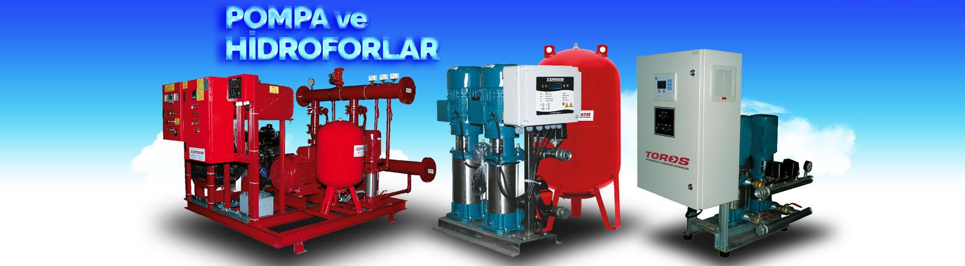 Toros Mühendislik ve Mekanik SistemlerPompa ve Hidrofor Grupları